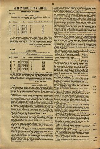 Handelingen van de Raad 1887-07-17