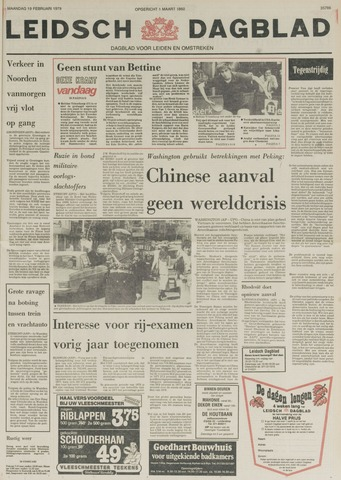 Leidsch Dagblad 1979-02-19