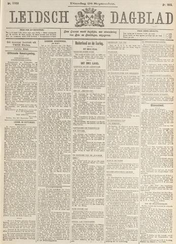 Leidsch Dagblad 1915-09-28