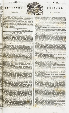 Leydse Courant 1843-08-11