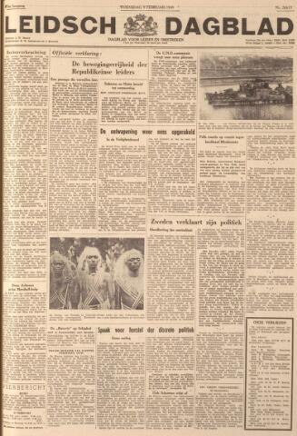 Leidsch Dagblad 1949-02-09