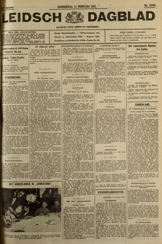 Leidsch Dagblad 1932-02-11