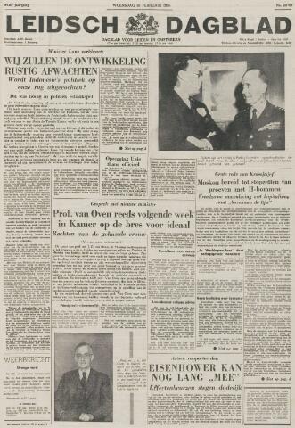 Leidsch Dagblad 1956-02-15