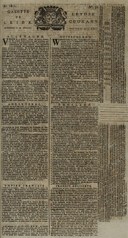 Leydse Courant 1811-07-31