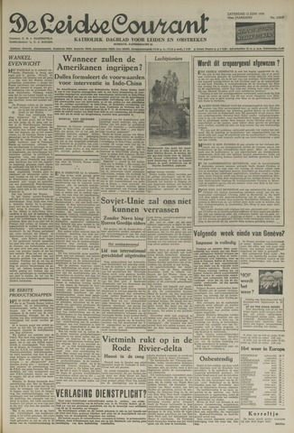 Leidse Courant 1954-06-12