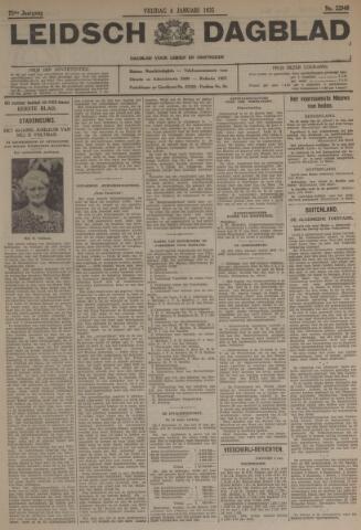Leidsch Dagblad 1935-01-04