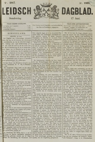 Leidsch Dagblad 1869-06-17