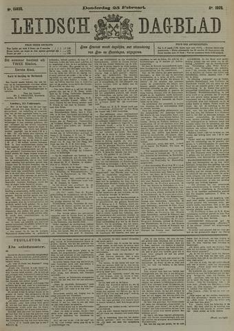 Leidsch Dagblad 1909-02-25