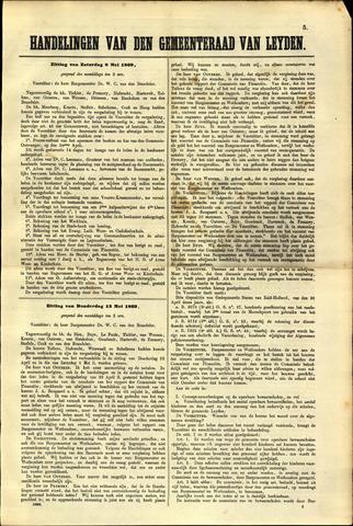 Handelingen van de Raad 1869-05-08