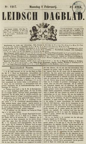 Leidsch Dagblad 1864-02-08