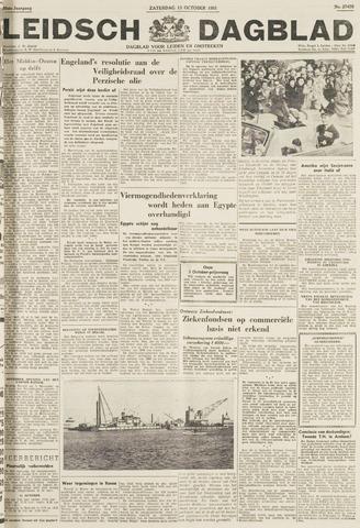 Leidsch Dagblad 1951-10-13