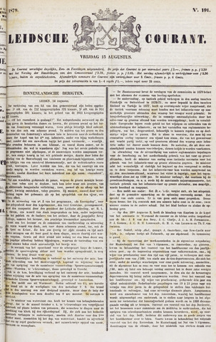 Leydse Courant 1879-08-15
