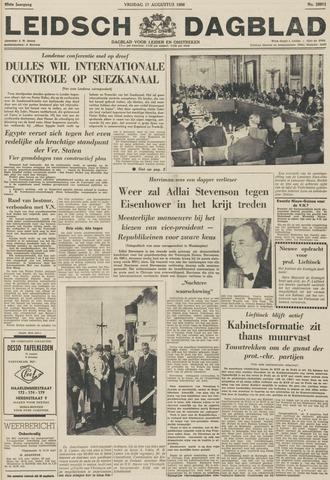 Leidsch Dagblad 1956-08-17