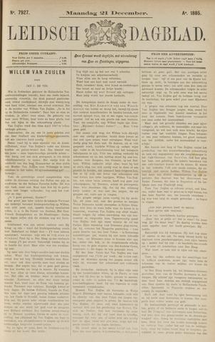 Leidsch Dagblad 1885-12-21