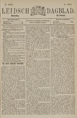 Leidsch Dagblad 1875-10-20