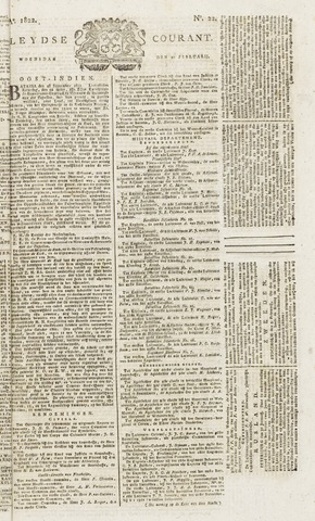 Leydse Courant 1822-02-20