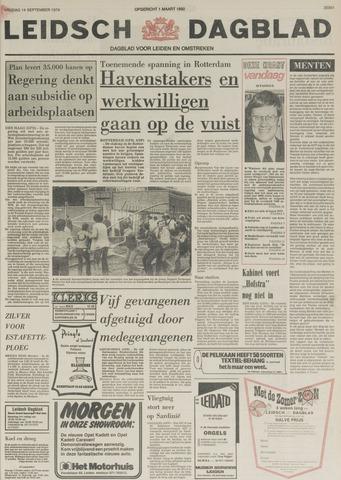 Leidsch Dagblad 1979-09-14