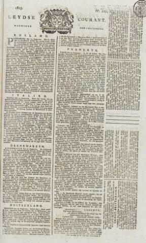Leydse Courant 1815-09-06