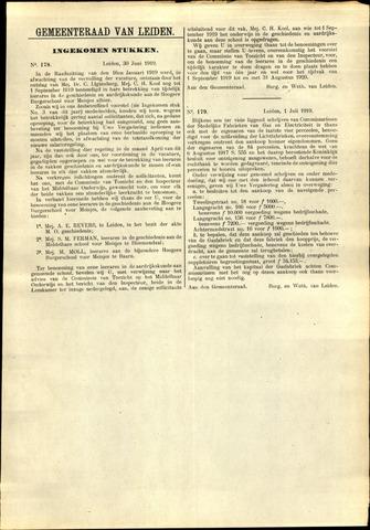 Handelingen van de Raad 1919-06-30