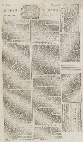 Leydse Courant 1820-10-04