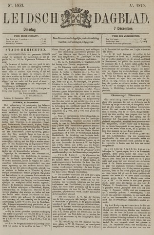 Leidsch Dagblad 1875-12-07