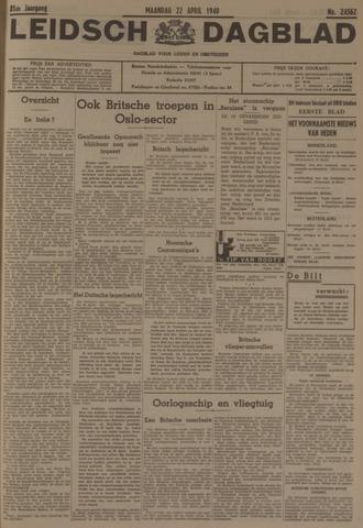 Leidsch Dagblad 1940-04-22