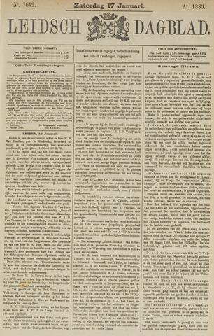 Leidsch Dagblad 1885-01-17