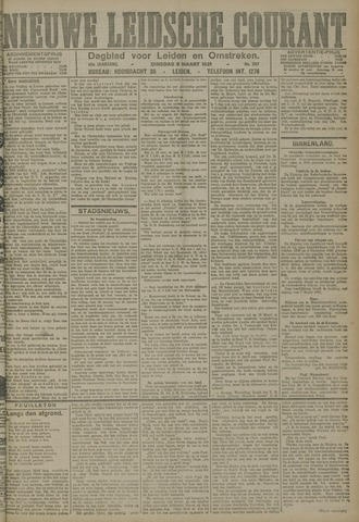 Nieuwe Leidsche Courant 1921-03-08