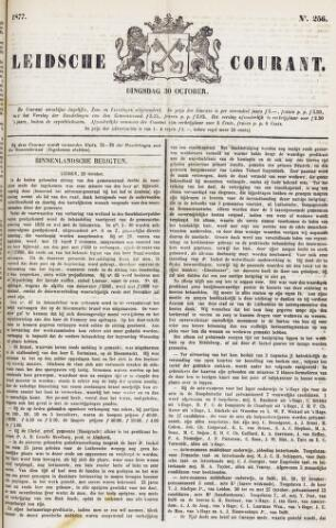 Leydse Courant 1877-10-30