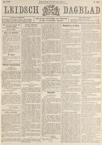 Leidsch Dagblad 1915-09-14