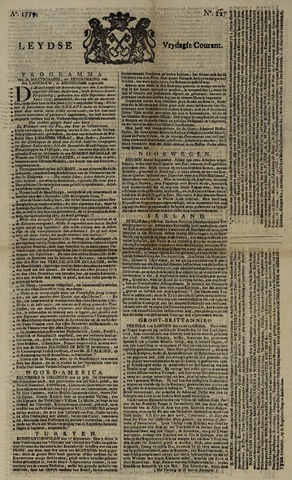 Leydse Courant 1779-10-22