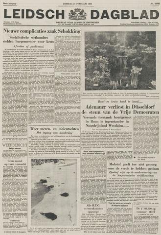 Leidsch Dagblad 1956-02-21