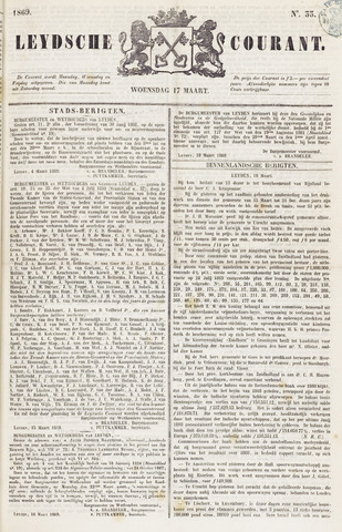 Leydse Courant 1869-03-17