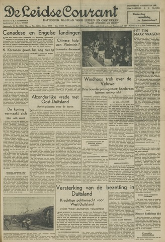 Leidse Courant 1950-08-24