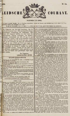 Leydse Courant 1885-04-22