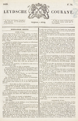 Leydse Courant 1853-07-01