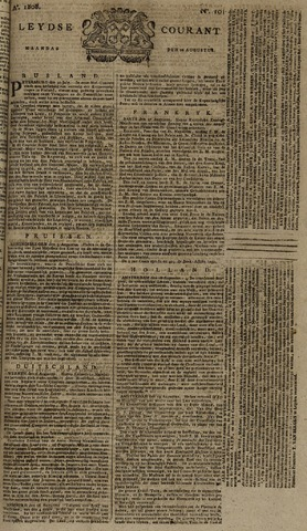 Leydse Courant 1808-08-22