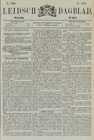 Leidsch Dagblad 1875-04-28