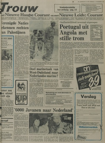 Nieuwe Leidsche Courant 1975-11-11