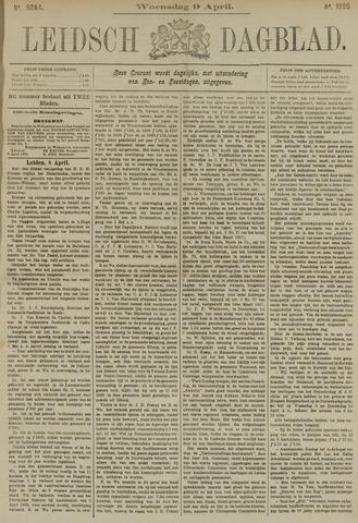 Leidsch Dagblad 1890-04-09