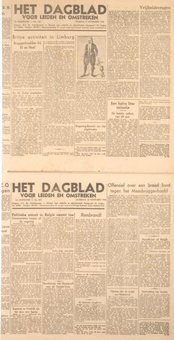 Dagblad voor Leiden en Omstreken 1944-11-17