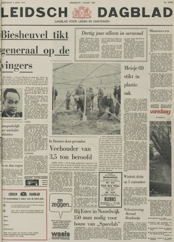 Leidsch Dagblad 1973-04-04