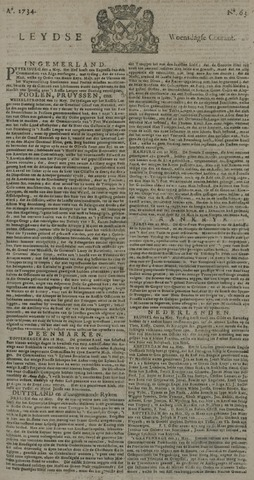 Leydse Courant 1734-05-26