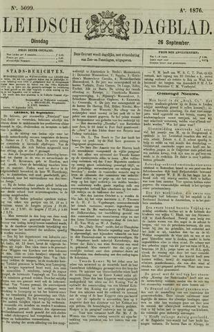 Leidsch Dagblad 1876-09-26