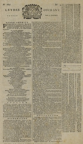 Leydse Courant 1807-01-09