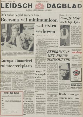 Leidsch Dagblad 1973-08-01