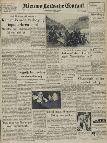 Nieuwe Leidsche Courant 1957-02-02