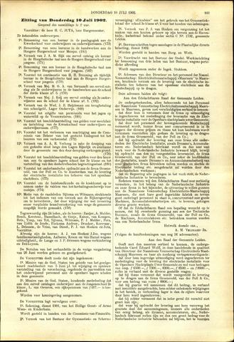 Handelingen van de Raad 1902-07-10