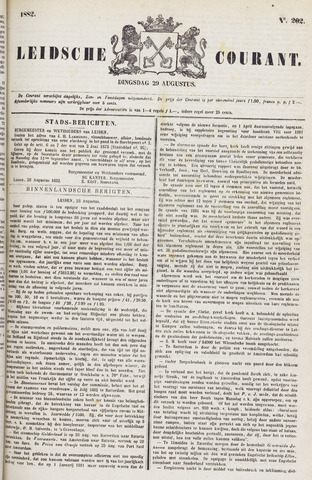Leydse Courant 1882-08-29