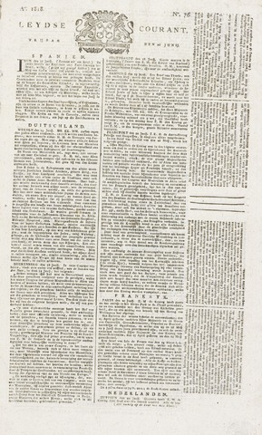 Leydse Courant 1818-06-26